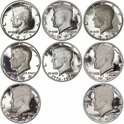 Awesome Complete Bu Kennedy Half Dollar Collection 1964-2018Pd! 35 Proofs Lo S/h