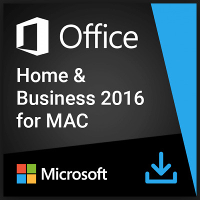MICROSOFT OFFICE 2016 Home and Business✔Für 1 MAC✔Produkt Key✔E-Mail EXPRESS