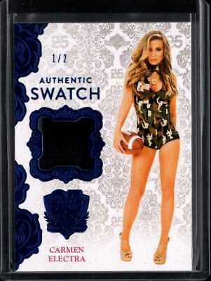 CARMEN ELECTRA 1/2 2019 BENCHWARMER 25 YEARS SWATCH mj1