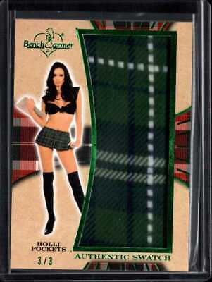 HOLLI POCKETS 3/3 2019 BENCHWARMER 25 YEARS SWATCH mj1