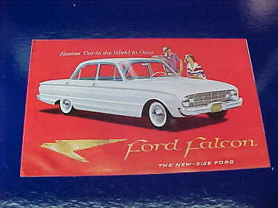 Orig 1960 FORD FALCON Automobile DEALERS Advertising BOOKLET