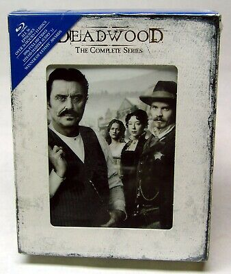 Deadwood - The Complete Series (Blu-ray Disc, 2013, 13-Disc Set) - SEALED