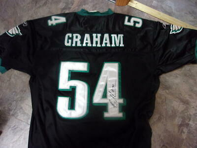 sale retailer 400d7 306cd BRANDON GRAHAM PHILADELPHIA Eagles Strip Sacks Tom Brady ...