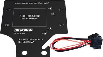 Hogtunes 4-Channel Amplifier Mount Plate Kit RG4CH-AA Harley Davidson Road Glide