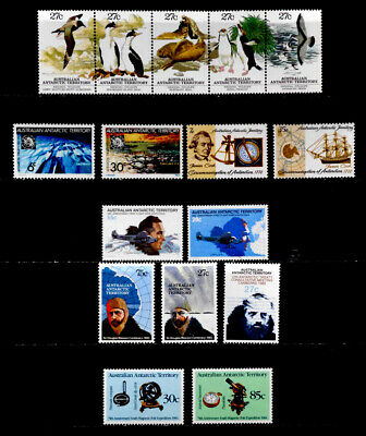 Australia Antarctic Territory: 1971-84 Stamp Collection Mint Never Hinged Sets