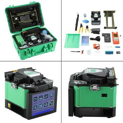Fiber Optic Welding Splicing Machine Optical Fusion Splicer with Power Cable New