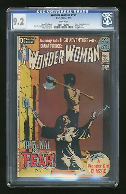 Wonder Woman (1st Series DC) #199 1972 CGC 9.2 0281745002