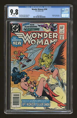 Wonder Woman (1st Series DC) #290 1982 CGC 9.8 1497130014