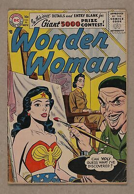 Wonder Woman (1st Series DC) #86 1956 VG- 3.5