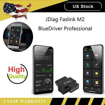 BlueDriver Superior Professional OBDII Scan Tool iOS Android JDiag Faslink M2