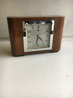 Art Deco Smiths Sectric Mains Electric Mantle Clock. House Clearance Untested