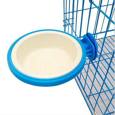 Pet Dog Cat Portable Removable Feeding Bowl Water Food Dish Feeder Bottle LG