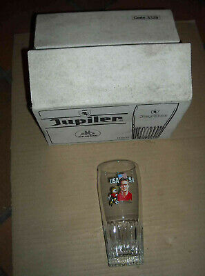 6 Verres Jupiler Usa 94 Footbal