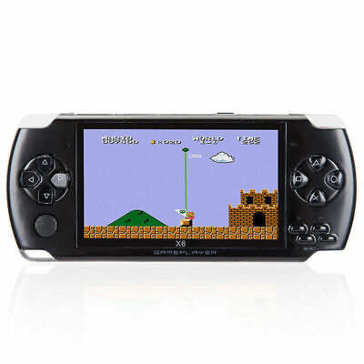 """Portable PSP Handheld Game Console 4.3"""" 32bit 8GB Classic 10000 Games Built-In"""
