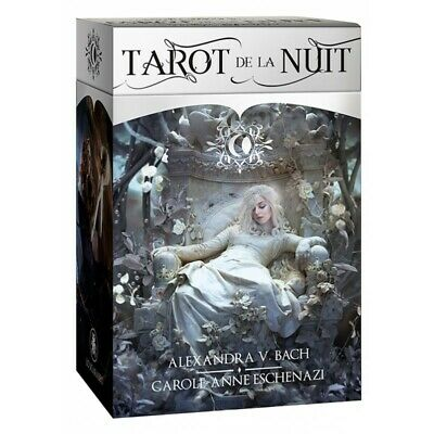 Tarot de la Nuit NEW Sealed 78 cards deck Alexandra Bach C. Eschenazi Divination
