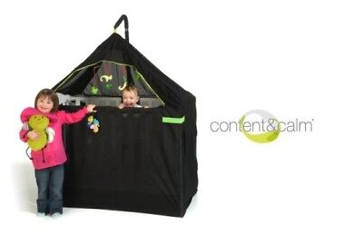 Brand New ~ The Cot Canopy Breeze / Black Out Netting System For Baby