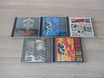 Guns`n Roses: 5-CD-Musik-Sammlung: Appetite For Destruction + Use Your Illusion