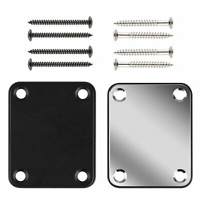 Fender Strat 4-Bolt Neck Joint Plate Board With Screws For Electric Guitar/Bass