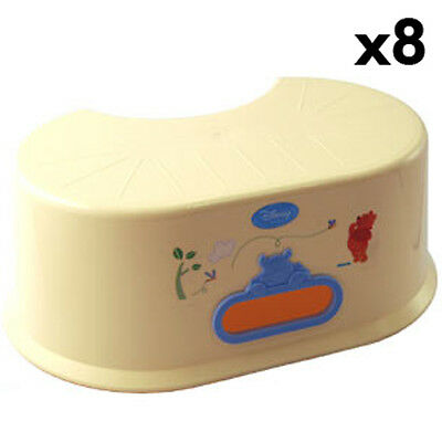 BABY TODDLER Box of 8 Honey Tree Pooh Step up stools KHTP04X8