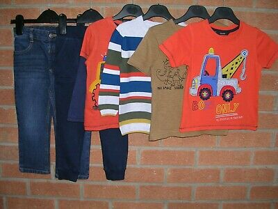 Mainly GEORGE etc Boys Bundle Jeans Tops Jumpers T-Shirts Age 2-3 98cm