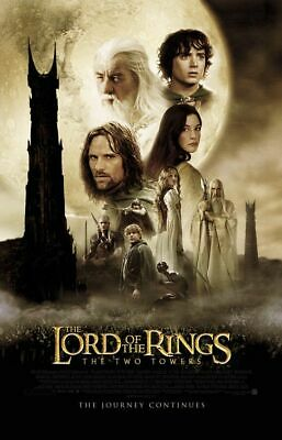 Lord of the Rings the Two Towers - original DS movie poster  D/S 27x40