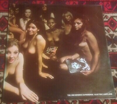 JIMI HENDRIX EXPERIENCE electric ladyland 68 UK TRACK STEREO RE 2LP w/WHITE TEXT