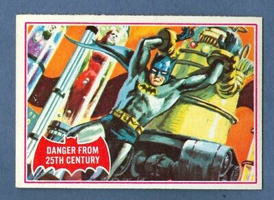 1966 Topps BATMAN (Red) #29A Danger From 25th Century *NearMint*
