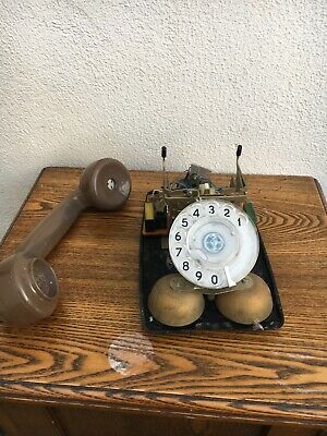 Bt/gpo 746  Vintage Rotary Dial Telephone For Parts