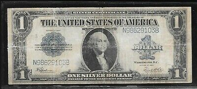Series Of 1923 Circulated Large Size $1 Silver Certificate N98629103B