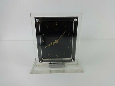 Vintage Clock Art Deco 1930s Sterling Croydon English Plug In Synchronos Mantle