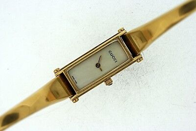 0e0b3ba3b18 LADIES GUCCI 1500L Gold Plated Stainless Steel Quartz Watch SPARES ...