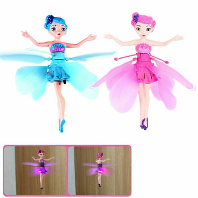 Cute Flying Fairy Magic Infrared Induction Control Princess Dolls RC plane Toy