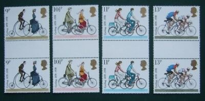 GB 1978 - Cycling. Set of gutter pairs (SG1067-1070)
