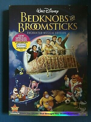 Bedknobs and Broomsticks (DVD, 2009, Enchanted Musical Edition) Disney,used