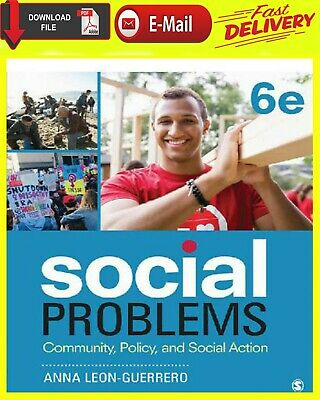 """Social Problems Community, Policy, and Social Action 5Th Edition [E-B00K """"PDF]"""