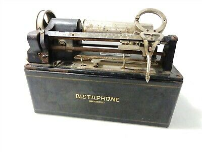 Vintage Dictaphone Type B Model 10X Dictating Transcribing Machine for Parts