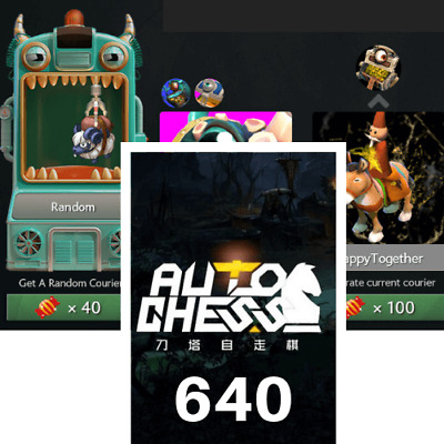 Dota2 Auto Chess 640 Candy CDKEY Key GLOBAL ::Fast Delivery::