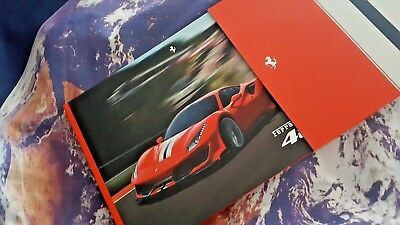 Ferrari 488 Pista Sales Brochure - 76pgs - ENG/IT - in a slipcase box