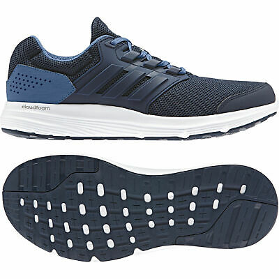 factory price c0385 9b074 Adidas Men Running Shoes Galaxy 4 Trainers (Size 8 ) Cloudfoam Blue CP8828  New