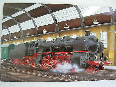 Magnetic Pinboard 60cm x 40cm Locomotive Trains - Magnets - Pin Board