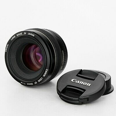 Canon EF 50mm F/1.4 USM Lens  - Great Condition