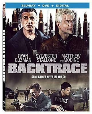 Backtrace BLU-RAY/DVD/DIGITAL with SLIPCOVER Sylvester Stallone 2019 NEW