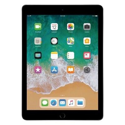 "New Apple 9.7"" iPad 6th Gen 32GB Space Gray Wi-Fi 2018 Model"