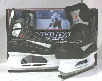 NEW NHLPA X500 Ice Hockey Skates Black Youth sz US 2