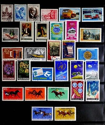 Romania: 1970's Stamp Collection 30 Different