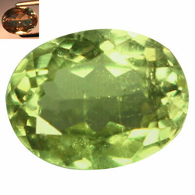 1.60Ct Exceptional Oval Cut 8 x 6 mm AAA Color Change Turkish Diaspore
