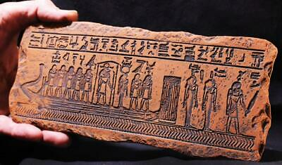 SAGA OF THE DYING SUN GOD 1600 BC Egyptian Relief ancient replica