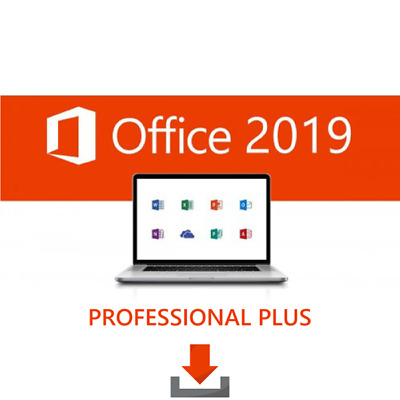 Microsoft Office Professional Plus 2019 - Genuine License Key