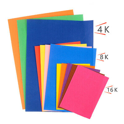 Art Paper Glitter Paper 10 Colors Sheets Drawing Paper For Crayon DIY Crafting