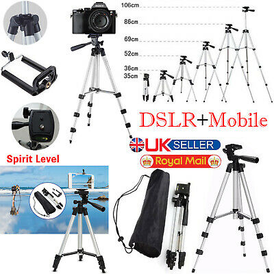 Tripod Stand Mount Holder with Bag For Digital Camera Camcorder Phone SLR DSLR